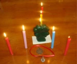 Ritual de las velas en la noche de San Juan