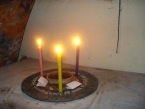 Ritual gallego en la noche de san juan