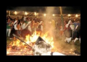 ritual de la danza prima en la noche de san juan