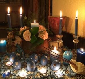 Ritual de fertilidad en fin de año