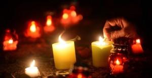 Ritual de fin de año con velas